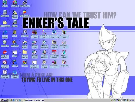 My Desktop by Enker