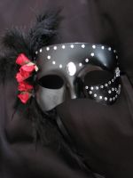 Black Masquerade by irishpagan