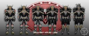 Grimm Barbatos Ornament Add On Cycle by Hellmaster6492