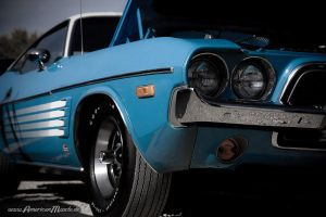 light blue challenger I by AmericanMuscle
