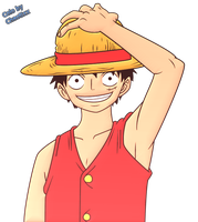 Mugiwara no Luffy by ChaotixxDA
