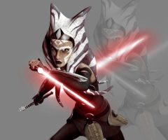 Ahsoka's Darker Side by DiamondLegacy