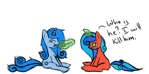 Breakups and Ice Cream by SarahThePegasister