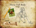 How To Draw With Arielle Namenyi: Horse Full Body by AN-ChristianComics