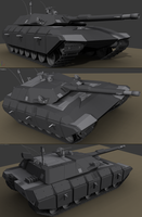 Hybrid Main Battle Tank milestone by Darkheart1987