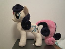 My little pony Bon Bon Plushie (Commission) by Little-Broy-Peep