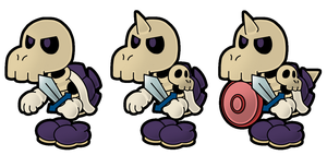 PM14: Iron Bones by The-PaperNES-Guy
