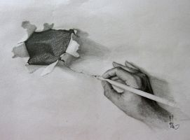 My hand by hieuorion