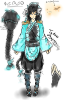 Tadao - Doodle reference by Lybellune