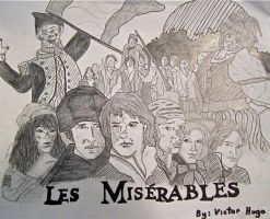 Les Mis Poster by mskullgirluv