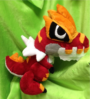 Tyrantrum Plush by GlacideaDay