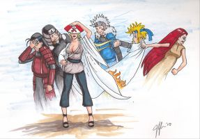 Ghosts of Hokages past by Darkus04