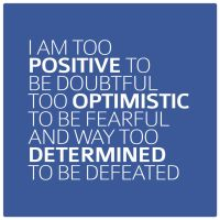 Too Positive, Too Optimistic, Too Determined by 1126jjk