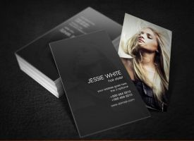 Hair Stylist Business Card by 24beyond