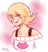 Roxy Lalonde Sketch by BlooDinner