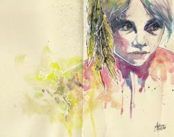 lost child (Agnes Cecile way or sort of ... ) by hubie-the-cat