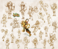 DOFUS steameurs sketches! by tchokun