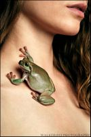 A Girl and Her Frogs: Two by walker1812
