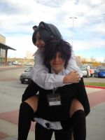 Anime Banzai 2012 Ciel and Claude by spottedcloud123