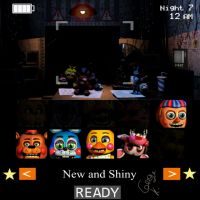 I beat new and shiny by freddyfriend1987