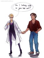 Welcome to Night Vale - Lab Coat by maXKennedy