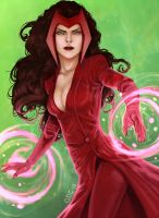 Scarlet Witch by Giando1611990