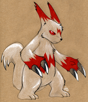 Craft Zangoose by raizy