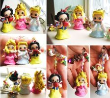 Disney princess charm commission by mayumi-loves-sora