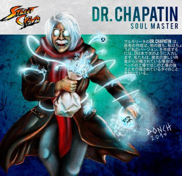 DR Chapatin by israeldonch