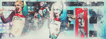 Harley Quinn facebook cover 1 by x-queen-of-darkness