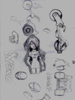 boceto 13 by halleymurray