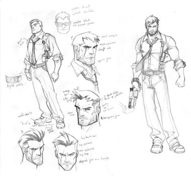 New project Character design by CarlosGomezArtist