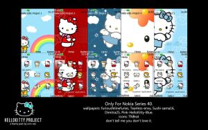 Hello Kitty Project Theme Pack by snm-net