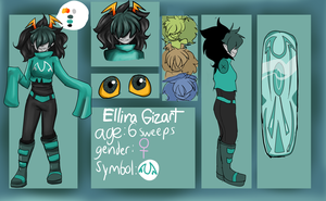 Ellira Reference Sheet by 0SkyKat0