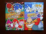 Sonic Select Books 7 and 8 by BoomSonic514