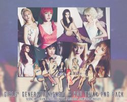 Girls' Generation (SNSD) - You Think PNG pack by yeoncin