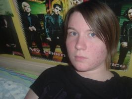 Me in front of MCR by AsherDemonSlayer