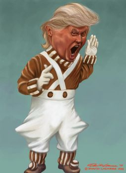 Donald Trump - Angry Oompa Loompa by David-Lacasse