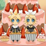 The Kagami-Muffins 8D by SweetxSnowxDream