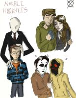 Marble Hornets by candlehat
