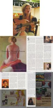 Article in Door County Living by Soirsce