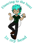 Dancing to the beat by TheLittlehoneybee