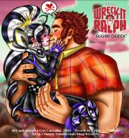Sugar Queen: Bad Guys can fall in love too by GND-KicaCris