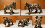 Baby Tapir Sculpture by LeiliaK