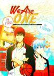 We Are One [ Kagami x Kuroko ] by JunSoulsilver