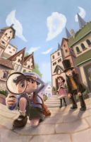 Professor Layton by kGoggles