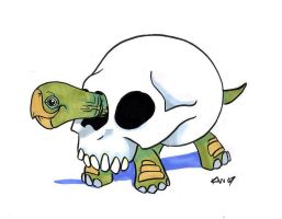 bone turtle by EatToast