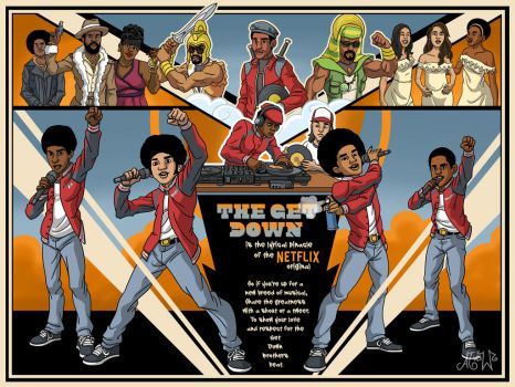 The Get Down PT2 by vdwjohn