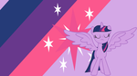 ~ Twilight Sparkle Alicorn Wallpaper ~ by Ponyphile