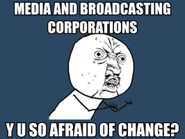 Media Corporations and Change by takeshita-kenji